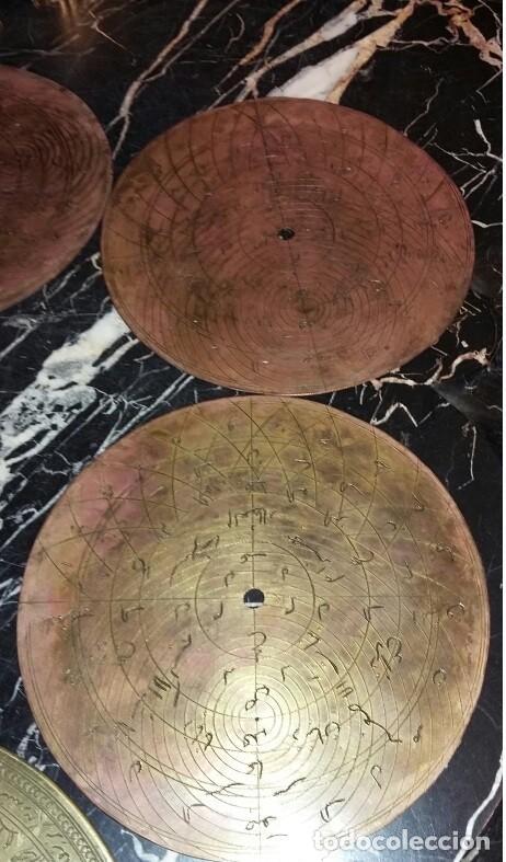 Antigüedades: ASTROLABIO OTOMANO SIGLO XVIII-XIX - Foto 10 - 126893051