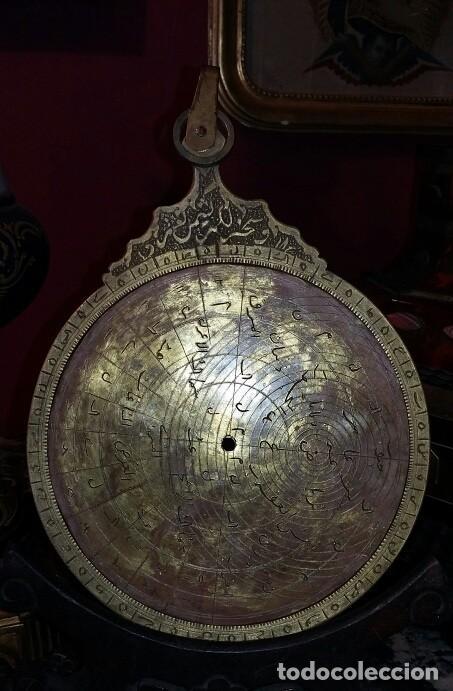 Antigüedades: ASTROLABIO OTOMANO SIGLO XVIII-XIX - Foto 11 - 126893051