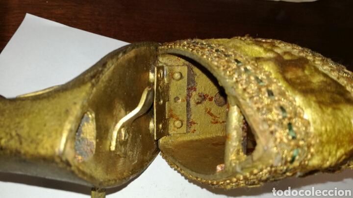 Antigüedades: Plancha de hierro fundido pequeña - Foto 4 - 126973806