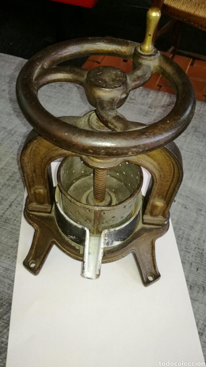 PRENSA PEQUEÑA DE LABORATORIO MEDICO (Antigüedades - Técnicas - Herramientas Profesionales - Medicina)
