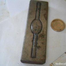 Antigüedades: ¡¡PRECIOSA ¡¡ ANTIGUA PLANCHA DE IMPRENTA AÑOS 20-30 ALASKA. Lote 126982815