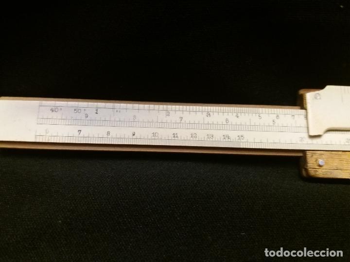 Antigüedades: Antigua regla de calculo de la Sociedad Española de Electricidad. Esvastica nazi - Foto 4 - 127183079