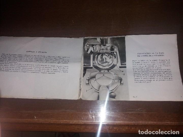 Antigüedades: Antiguo Libro instrucciones para máquina de coser ALFA - Foto 2 - 127366031