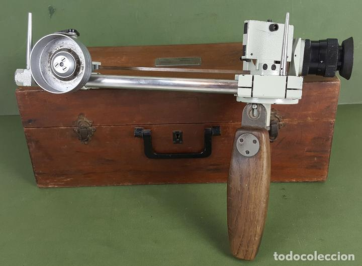 ESTADIMETRO NAVAL MODELO 006. LTIEMA. CHAMARTIN. CIRCA 1940. (Antigüedades - Técnicas - Otros Instrumentos Ópticos Antiguos)