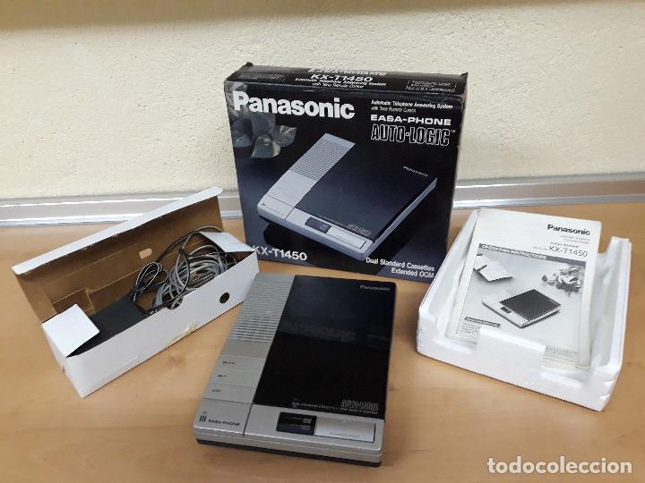 CONSTESTADOR AUTOMATICO PANASONIC (AÑO 1990) (Antigüedades - Técnicas - Teléfonos Antiguos)