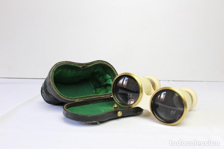 PRISMÁTICOS DE TEATRO (Antigüedades - Técnicas - Instrumentos Ópticos - Binoculares Antiguos)