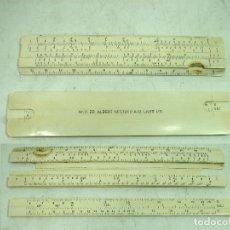 Antigüedades: ANTIGUA REGLA DE CALCULO - ALBERT NESTLER NR.11 ZR A-G LAHR I/B - GERMANY 1900S -CALCULADORA. Lote 127586055