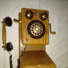 Teléfonos: ANTIGUO TELÉFONO DE MADERA.. Lote 127671088