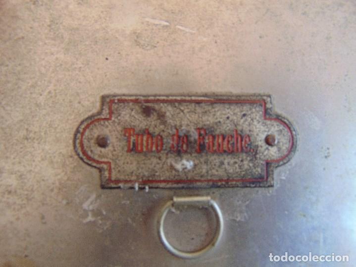 Antigüedades: LOTE DE 7 ANTIGUAS CAJAS EN METAL DE MEDICO DENTISTA O SIMILAR , MARCADAS DIFERENTES MEDIDAS - Foto 12 - 127749299