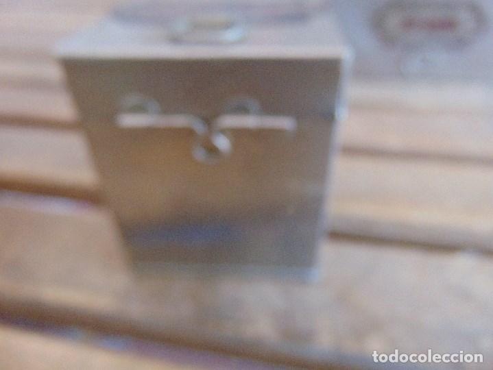 Antigüedades: LOTE DE 7 ANTIGUAS CAJAS EN METAL DE MEDICO DENTISTA O SIMILAR , MARCADAS DIFERENTES MEDIDAS - Foto 18 - 127749299