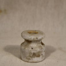 Antigüedades: AISLANTE PORCELANA. Lote 127809019