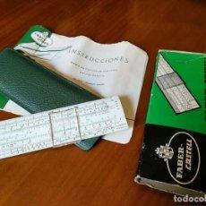 Antigüedades: REGLA DE CALCULO FABER CASTELL 67/21 - CALCULOS HORMIGON ARMADO - CALCULADORA - SLIDE RULE. Lote 127824859