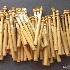 Antigüedades: LOTE DE 50 BOLILLOS ANTIGUOS. Lote 127839627