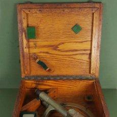 Antigüedades: TELESCOPIC ALIDADE. US.N.BU. MK II. ESTADOS UNIDOS. CAJA ORIGINAL. 1968. . Lote 127911707