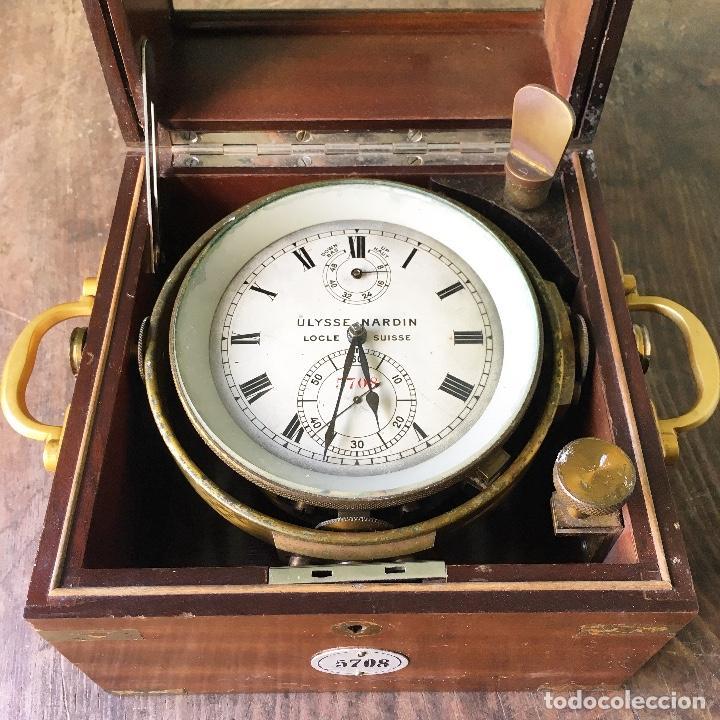 O Marino Nardin Nautico Reloj Cronometro Marca Ulysse 0OXnwk8PNZ