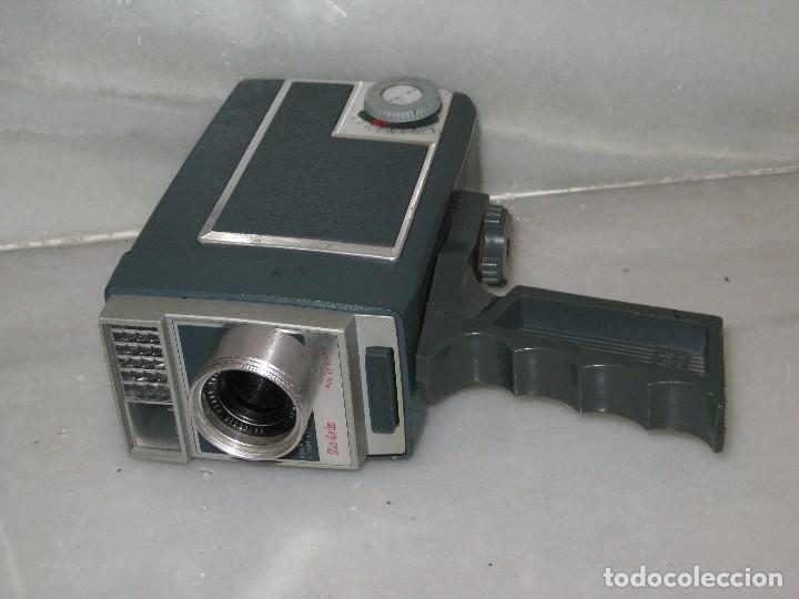 Antigüedades: Antiguo tomavista Kodak Automatic 8. U.S.A. manivela. - Foto 3 - 128026963