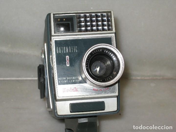 Antigüedades: Antiguo tomavista Kodak Automatic 8. U.S.A. manivela. - Foto 4 - 128026963