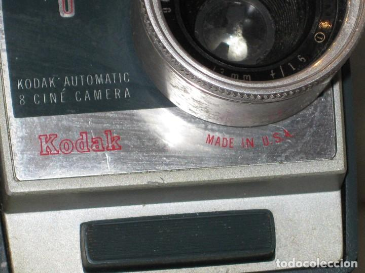 Antigüedades: Antiguo tomavista Kodak Automatic 8. U.S.A. manivela. - Foto 5 - 128026963