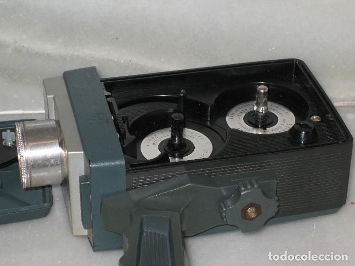 Antigüedades: Antiguo tomavista Kodak Automatic 8. U.S.A. manivela. - Foto 6 - 128026963