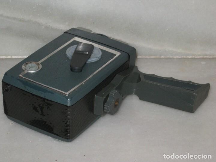 Antigüedades: Antiguo tomavista Kodak Automatic 8. U.S.A. manivela. - Foto 8 - 128026963