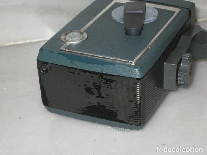 Antigüedades: Antiguo tomavista Kodak Automatic 8. U.S.A. manivela. - Foto 9 - 128026963