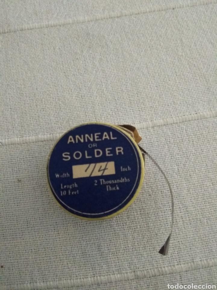 ANNEAL OR SOLDER (Antigüedades - Técnicas - Herramientas Antiguas - Otras profesiones)