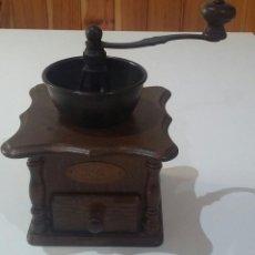 Antigüedades: ¡¡ OFERTA !! ANTIGUO MOLINILLO CAFÉ ALEMÁN MARCA ZASSENHAUS. Lote 128043127