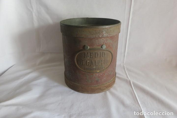 Antigüedades: juego de medidas de aridos anteriores a 1924 - Foto 2 - 128118259