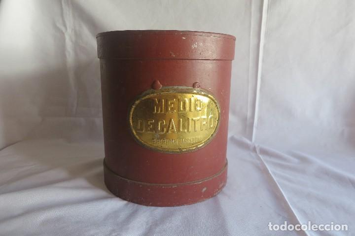 Antigüedades: medida de medio decalitro aridos 1924 5 litros - Foto 2 - 128119031