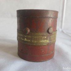 Antigüedades: MEDIDA DE ARIDOS DOBLE DECILITRO 1930. Lote 128126391