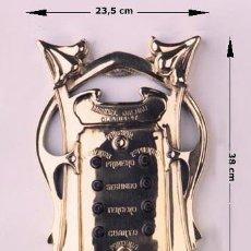 Antigüedades: TIMBRE. PLACA TIMBRE ASCENSOR. Lote 128136339