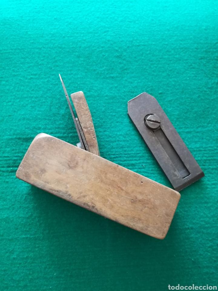 CEPILLO DE CARPINTERO DE MADERA (Antigüedades - Técnicas - Herramientas Profesionales - Carpintería )