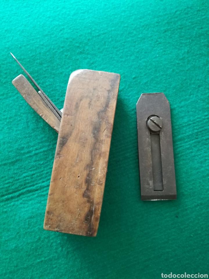 Antigüedades: CEPILLO DE CARPINTERO DE MADERA - Foto 4 - 128136698