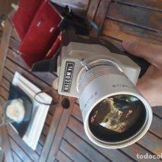 Antigüedades: VIDEOCAMARA TOMAVISTAS SUPER 8 NALCOM TL. Lote 128140571