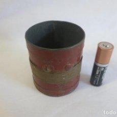 Antigüedades: MEDIDA DE ARIDO DECILITRO DE 1930. Lote 128144943