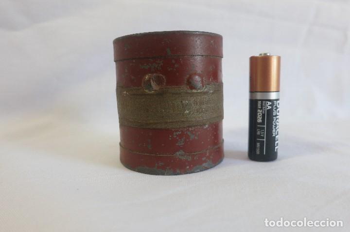 Antigüedades: medida de arido Decilitro de 1930 - Foto 2 - 128144943