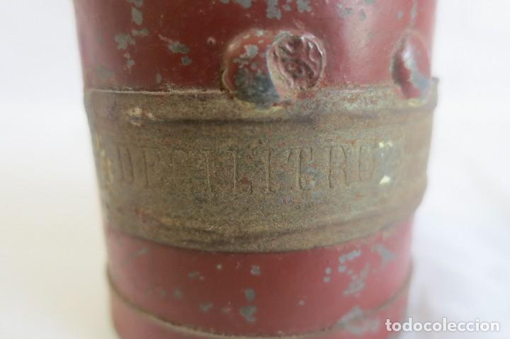 Antigüedades: medida de arido Decilitro de 1930 - Foto 3 - 128144943