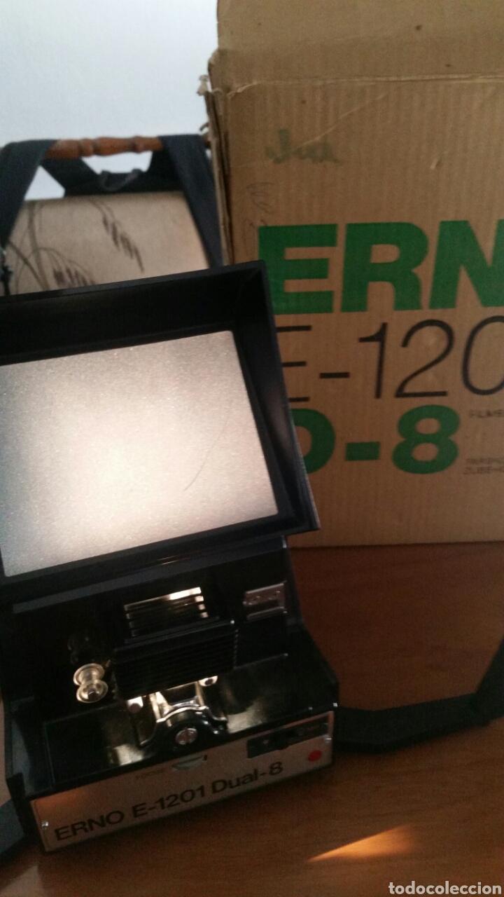 VISOR EDITOR ERNO E-1201 D8 EDITOR VIEWER (Antigüedades - Técnicas - Aparatos de Cine Antiguo - Visores Estereoscópicos Antiguos)