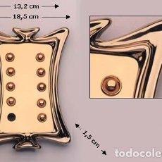 Antigüedades: TIMBRE. PLACA TIMBRE PUNTAS IGUALES. Lote 128158543