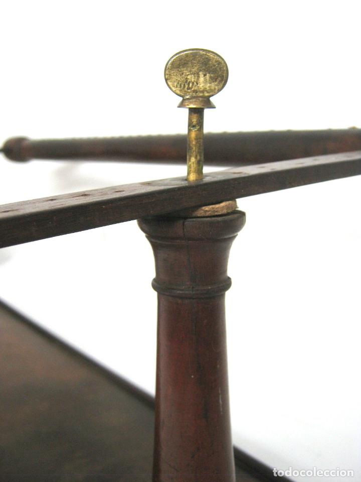 Antigüedades: S.XIX Bello Bastidor para bordar - madera de caoba - isabelino - Foto 4 - 128328059