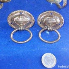 Antigüedades: TIRADORES DE BRONCE-2. Lote 128507879