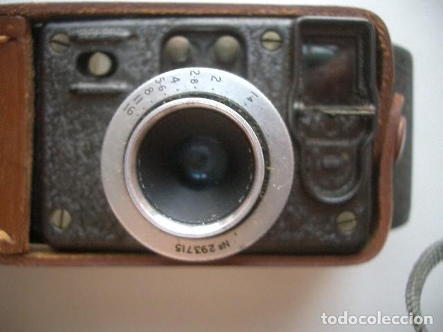 Antigüedades: CINE A CUERDA,1936..8mm...BELL&HOWELL FILMO SPORTSTER.MUY BUEN ESTADO FUNCIONA - Foto 5 - 128515879