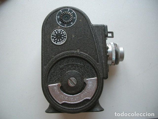 Antigüedades: CINE A CUERDA,1936..8mm...BELL&HOWELL FILMO SPORTSTER.MUY BUEN ESTADO FUNCIONA - Foto 7 - 128515879