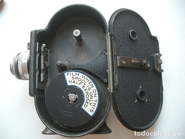 Antigüedades: CINE A CUERDA,1936..8mm...BELL&HOWELL FILMO SPORTSTER.MUY BUEN ESTADO FUNCIONA - Foto 11 - 128515879