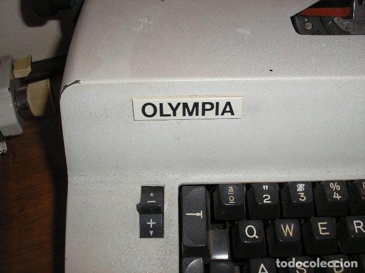 Antigüedades: MÁQUINA DE ESCRIBIR OLYMPIA ELECTRIC 45 - Foto 2 - 128645671