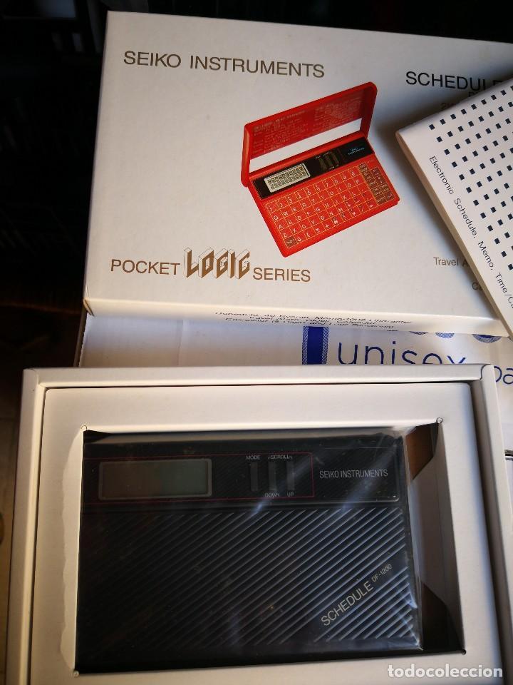 Antigüedades: PROGRAMADOR calculadora DF-1200 DE SEIKO INSTRUMENTS NEW OLD STOCK,NO ESTA PRECINTADO.LA CAJA - Foto 2 - 128662467