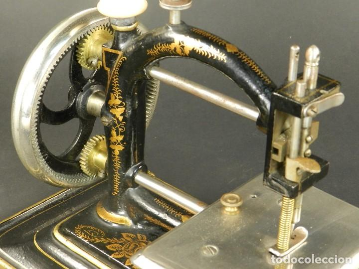 Antigüedades: Antigua máquina de coser Original Express año 1910. PIEZA RARA - Foto 6 - 128665355
