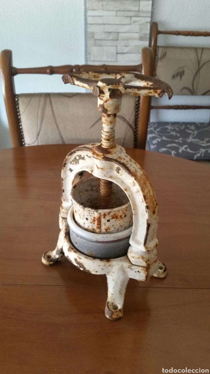 Antigüedades: Antigua prensa de enologia laboratorio farmacia - Foto 4 - 128704627