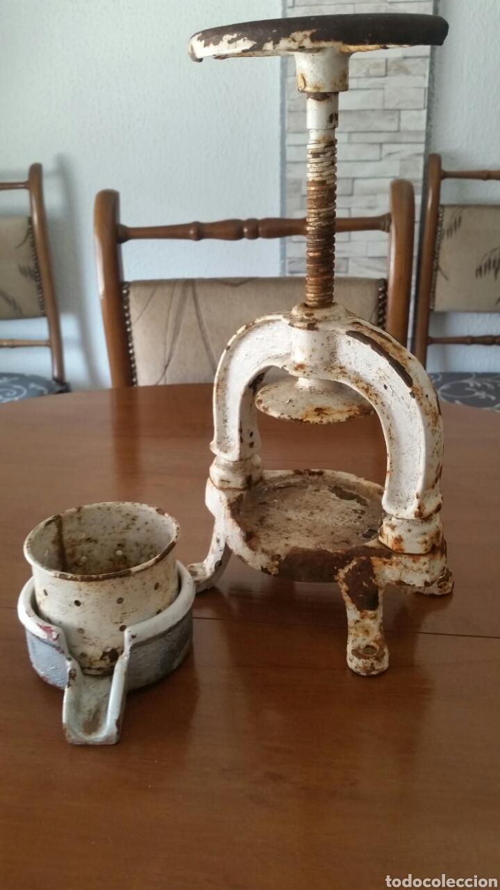 Antigüedades: Antigua prensa de enologia laboratorio farmacia - Foto 5 - 128704627