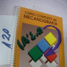 Antigüedades: CURSO COMPLETO DE MECANOGRAFIA. Lote 128807227